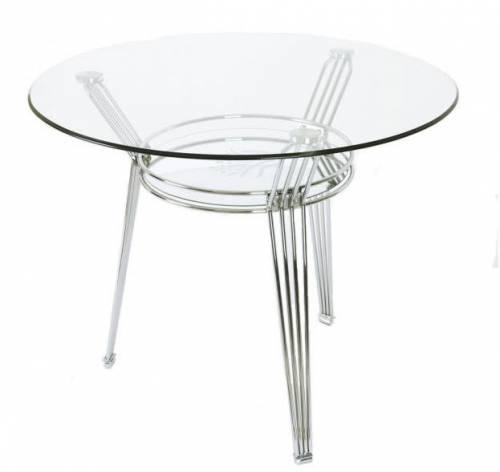 Стол стеклянный 617 D90