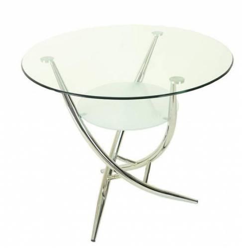 Стол стеклянный 330 D90